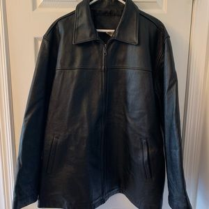Other - Men's Faux leather jacket!